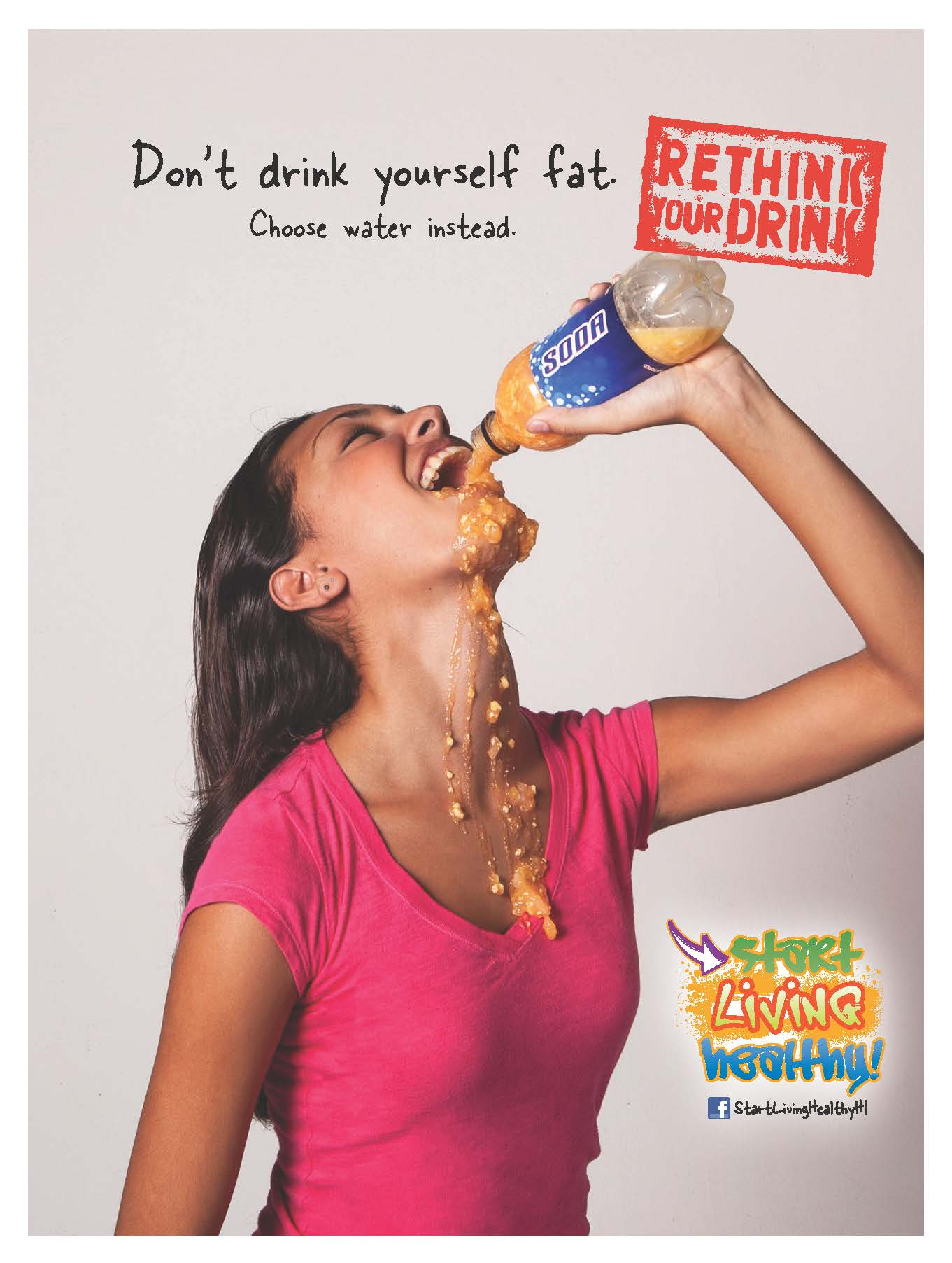 rethink your drink Minneapolis department of health h as launched a new campaign – rethink your drink, every sip counts rethink your drink is a health campaign providing education on healthier beverage options for students and staff to reduce the intake of sugar, as well as the impact of sugar sweetened beverages on health.