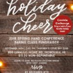 Holiday Baking Class Fundraiser and Social